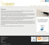 Picture of Liberty Wills & Trusts' website