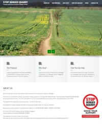 Picture of Stop Bengeo Quarry website