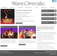 Picture of Ware Operatic website